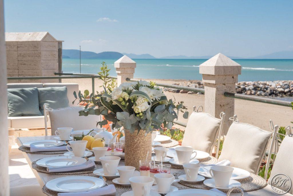 Terrazza sul mare, Villa Galatea - GH Lazzerini, San Vincenzo - Toscana